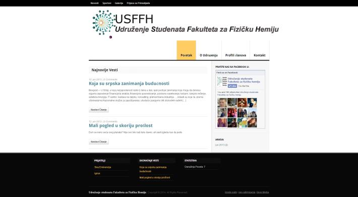 Udruženje studenata Fakulteta za Fizičku Hemiju