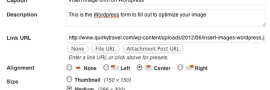 seo optimizacija slike u wordpress
