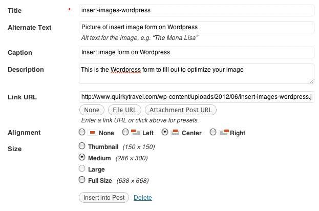 seo optimizacija slike u wordpress